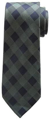 Banana Republic Buffalo Check Silk Nanotex® Tie