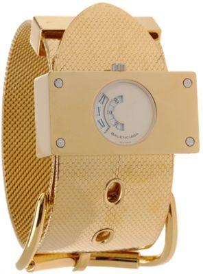 Balenciaga Montre Acier Gold Watch