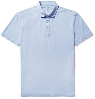 Brunello Cucinelli Slim-Fit Cotton-Jersey Polo Shirt