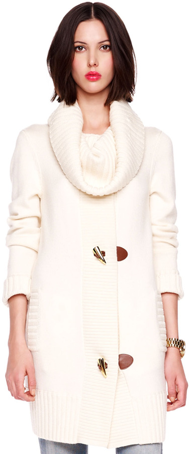 Michael Kors Toggle Sweater Coat