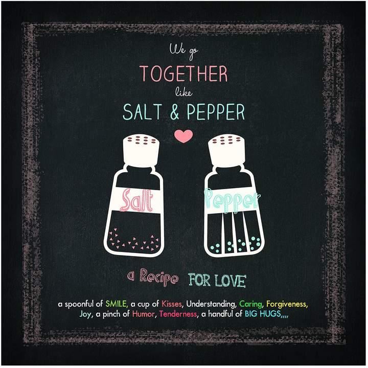 Pro Art Floatglasbild Salt & Pepper