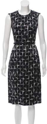 Marc Jacobs Printed Midi Dress