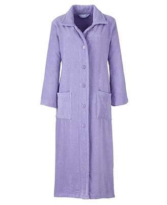 Pretty Secrets Towelling Button Gown L42
