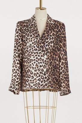 La Prestic Ouiston Tom Sayer leopard jacket