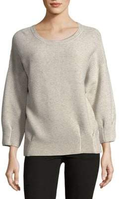 French Connection Speckled Long-Sleeve Sweater