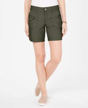 Style&Co. Style & Co Petite Flap-Pocket Shorts, Created for Macy's