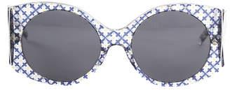 Stella McCartney Rectangle Trans Orcirbl 2050/87 Sunglasses