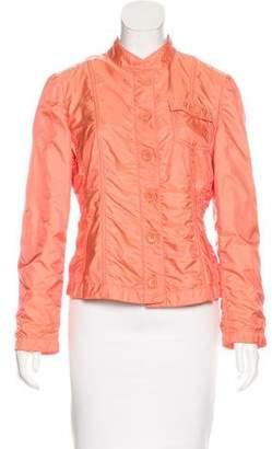Armani Collezioni Ruched Casual Jacket