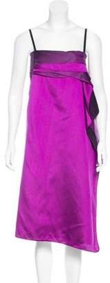 Thakoon Draped Silk Dress