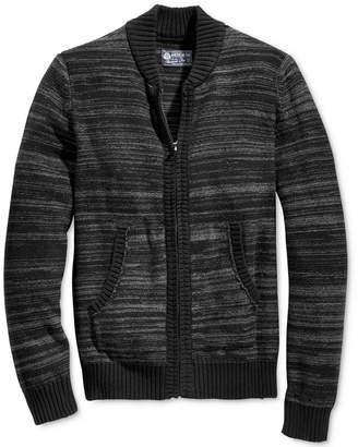 American Rag Men's Full Zip Sweater Bomber