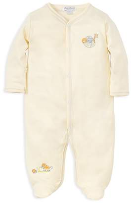 Kissy Kissy Unisex Embroidered Animal Footie - Baby