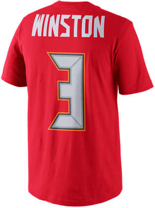 low cost 7ed1d 733b1 Nike Men Jameis Winston Tampa Bay Buccaneers Pride Player T-Shirt