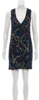 Zadig & Voltaire Embellished Mini Dress