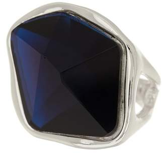 Robert Lee Morris Faceted Stone Cocktail Ring - Size 8.5