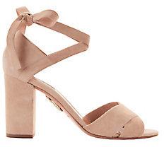 Aquazzura Tarzan Block Heel Sandals
