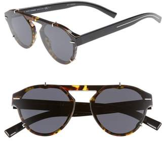 Christian Dior 62mm Round Sunglasses