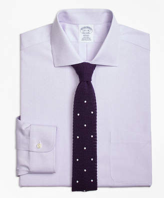 Brooks Brothers Regent Fitted Dress Shirt, Non-Iron English Collar Dobby