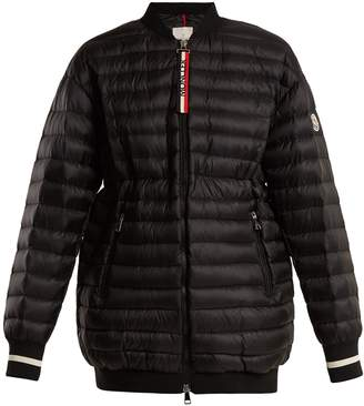 Moncler Charoite quilted down jacket