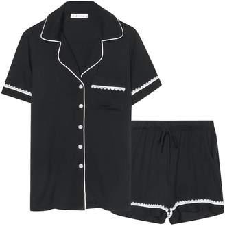 Espoir Women Cool Sleepwear Short Plus Size Pajama Set Nightwear