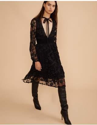 Cynthia Rowley Harlow V-Neck Lace Dress