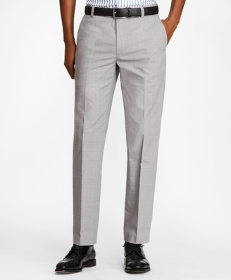 Brooks Brothers Milano Fit Glen Plaid Stretch Advantage Chinos