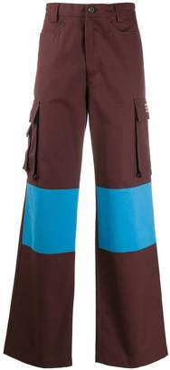 Acne Studios Knee patch cargo trousers
