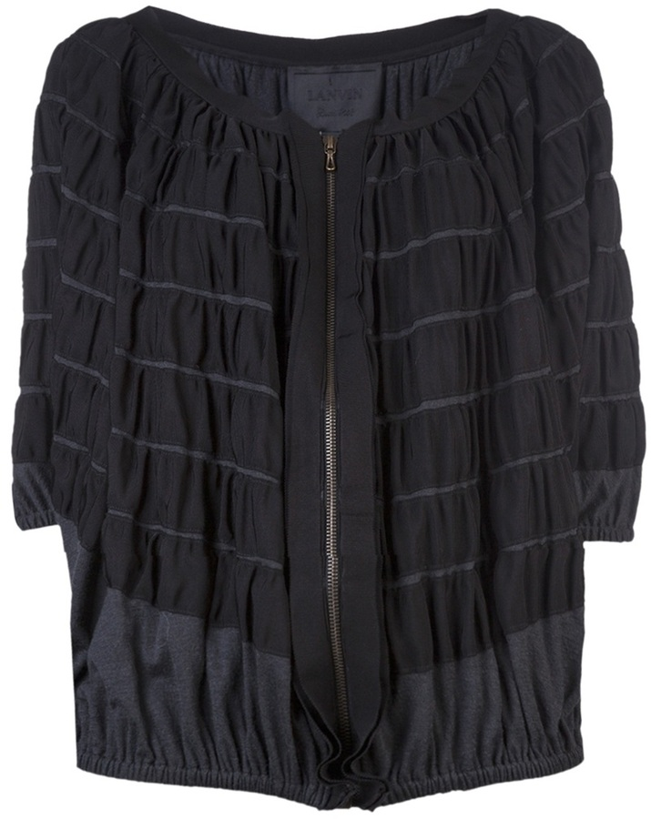 Lanvin Oversized ribbon jacket