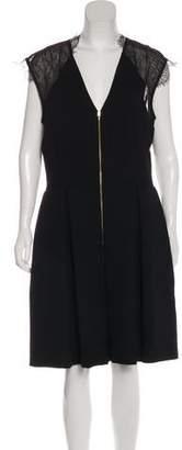 Nha Khanh Wool Midi Dress