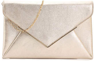 Urban Expressions Metal V Clutch - Women's