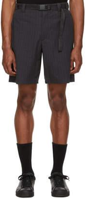 Rag & Bone Grey Check Drake Shorts