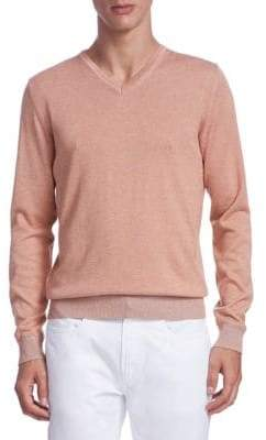 Saks Fifth Avenue COLLECTION Timothy V-Neck Sweater