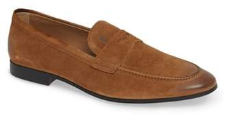 Tod's 'Mocassino' Suede Penny Loafer