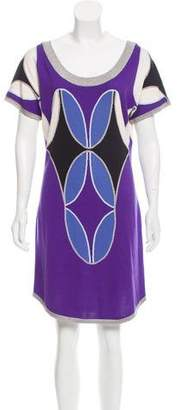 Temperley London Silk-Blend Mini Dress