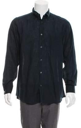 Hermes Woven Linen Shirt