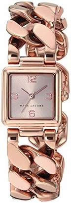 Marc Jacobs Women's 'Vic' Quartz Stainless-Steel-Plated Casual Watch