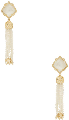 Kendra Scott Misha Earrings $125 thestylecure.com