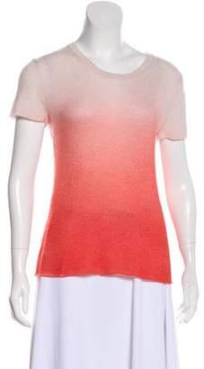 Amina Rubinacci Short Sleeve Knit Top