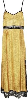 Gucci Lace Panel Dress