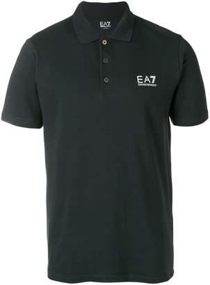 Emporio Armani Ea7 logo print polo shirt