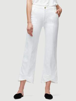 Frame Mitered Trouser