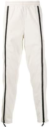 U.P.W.W. front-zip detail corduroy trousers