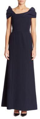 Armani Collezioni Off-The-Shoulder Gown $1,595 thestylecure.com