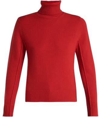 Chloé Cashmere Roll Neck Sweater - Womens - Red