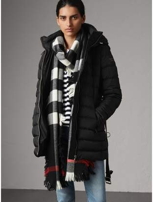 Burberry Hooded Down-filled Puffer Jacket