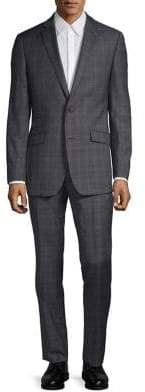 Ted Baker No Ordinary Joe Two-Piece Wool Plaid Suit Set
