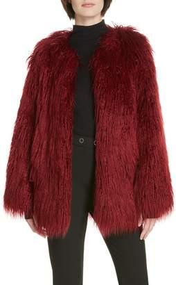 HUGO Fabea Faux Fur Coat
