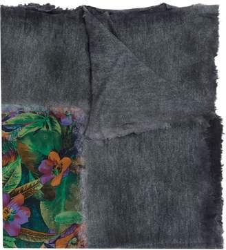Avant Toi floral print scarf
