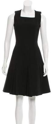 Andrew Gn Wool-Blend A-Line Dress