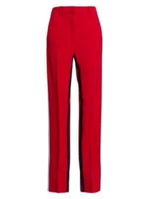 No.21 Inside Stripe Trousers