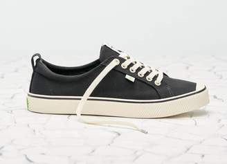 Cariuma OCA Low Stripe Canvas Black Men